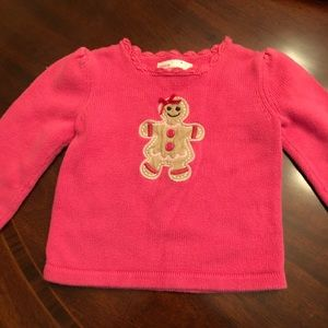 Gingerbread sweater Oshkosh